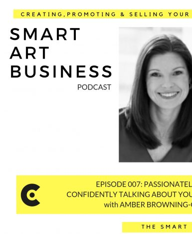 Passionately and Confidently talking about your art with Amber Browning-Coyle