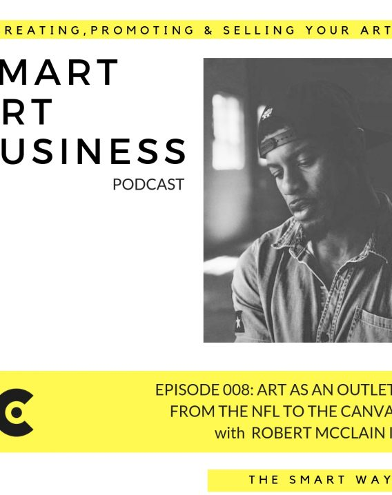 Art as an outlet: from the NFL to the art studio with Robert McClain III